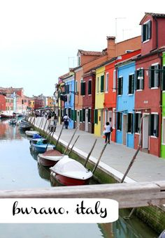 The Colours of Burano Island, Venice, Italy - Bright Bazaar by Will Taylor What Do Colors Mean, Weather In Italy, Lake Mcdonald, Italy Honeymoon, Italy Vacation, Colourful Buildings, Colorful Houses, Boat Art, Skyline Art