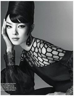 Vogue Italia, Jan '13 | Steven Meisel editorial, beautiful retro-style images
