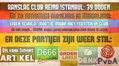 Moslims in Nederland reageren op aanslag Istanbul... En @SylvanaSimons @DenkNL en @GroenLinks zagen dat het goed was - Liefde voor Holland