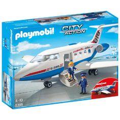 PLAYMOBIL City Action chartervliegtuig 5395