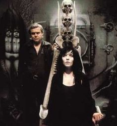 H. R. Giger with Debbie Harry