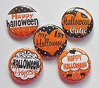 First Halloween Flatback Pin Back Buttons 1 for Bows Embellishment - Halloween Flatback Pins First Halloween, Embellishments, Pumpkin, Bows, Scrapbook, Buttons, Ornaments, Pumpkins, Arches