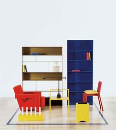 CAPPELLINI - Yellow Fronzoni'64 chair by A.G.Fronzoni