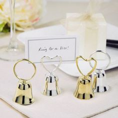 Kissing Bells Place Card Holders