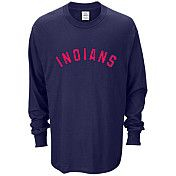 Cleveland Indians Mens Custom Long Sleeve T-Shirt - MLB.com Shop