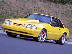 1991 Ford Mustang foxbody notch