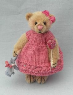 Valerie bear with her bunny