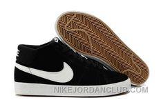 http://www.nikejordanclub.com/nike-blazer-mid-suede-mens-black-white-shoes-awctd.html NIKE BLAZER MID SUEDE MENS BLACK WHITE SHOES AWCTD Only $72.00 , Free Shipping!