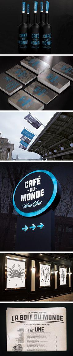 Café du Monde #identity #packaging #branding PD