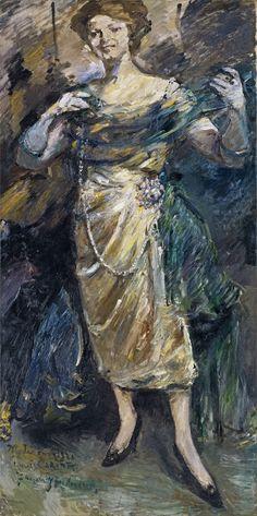 Fashion Show, de Lovis Corinth (1921). Colección Thyssen-Bornemisza.