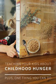 A short guide to teaching your kids about childhood hunger—and one simple thing your family can do to help. Real Honey, Free Mom, Parent Resources, Sweet Words, Food Waste, Raising Kids, Girl Scouts, Kids And Parenting, Mom And Dad