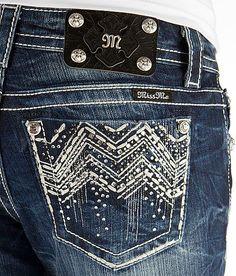 Miss Me Chevron Boot Stretch Jean - Women's Jeans | Buckle