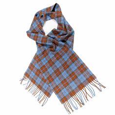 Rob Roy Tartan Wool Scarf from Gretna Green #TartanScarf #PlaidScarf £24.99