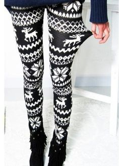 Winter tights -- cute!!