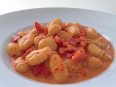 Gnocchi mit Paprikarahmsauce 5