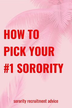 After Pref, you have to pick ONE sorority. The sorority that you will most likely be spending the next four years with. How do you know which sorority is the right sorority for you? Click the image to read more. Sorority Rush Week, Sorority Rush Outfits, Sorority Recruitment Outfits, Sorority Life, Sorority Paddles, Sorority Crafts, Sorority Canvas, Sorority Big Little