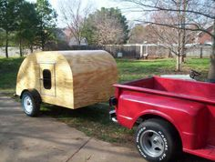 old teardrop trailers | My finished 5 ft by 8 ft Teardrop Camper costs me about $600 . and ...