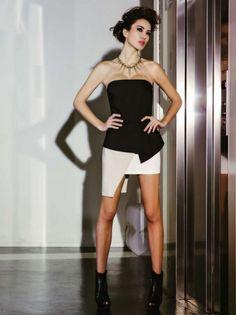 rinascimento-abbigliamento-donna-primavera-estate-2013-mini-dress-bianco-nero