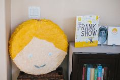 Frankie party: personalized pinata « Posh Paperie