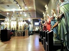 When Cleveland, Ohio closed 37 Catholic churches, St.Hedwig's Church became a museum for restored religious artifacts.