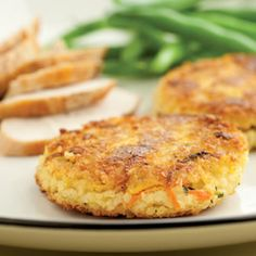 Savory Millet Cakes Recipe - http://recipes.millionhearts.hhs.gov/recipes/savory-millet-cakes