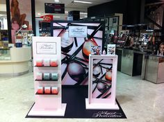 Agent Provocateurs L'AGENT Fragrance POS by Design 4 Retail, UK visual merchandising store design