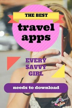 Hey girl! Going on an adventure? There's apps for that! Find out the Best Travel Apps you need to download before you go to rock it on the road in no time.: