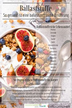 Gesund und glücklich durch ballaststoffreiche Lebensmittel! Ballaststoffe besitzen eine stark gesundheitsfördernde Wirkung: Eine ballaststoffreiche Ernährung hilft einerseits beim Abnehmen, da sie ein langes Sättigungsgefühl auslöst und die Verdauuung ankurbelt. Anderseits beugen Ballaststoffe Herzinfarkten, Diabetes sowie Darmkrebs vor und senkt Bluthochdruck wie auch Ihren Cholesterinspiegel. Ballaststoffreiche Lebensmittel: Ananas, Hafer, Gurke, Roggen, Weizen, Leinsamen und Feigen.