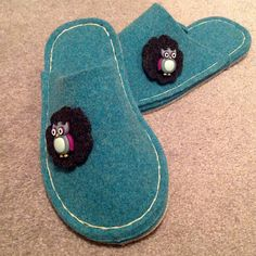Joe's Toes - Gallery - Show Joe! Make your own woolly felt slippers