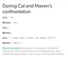 The red queen series #MareCal  #RiseRedAsTheDawn #AnyoneCanBetrayAnyone