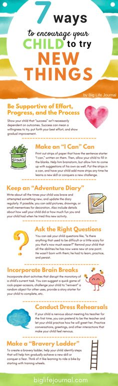 How to Teach Your Child to Read - 7 Ways to Encourage Your Child to Try New Things – Big Life Journal Give Your Child a Head Start, and.Pave the Way for a Bright, Successful Future. Parenting Teenagers, Parenting Advice, Parenting Classes, Parenting Humour, Japanese Language Proficiency Test, Life Journal, Parent Resources, Brain Breaks, Growth Mindset