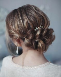 Wedding updos with braids Modern take on braids | itakeyou.co.uk #updos #weddingbraids #weddinghairstyle #bridalbraids #bridedupdos