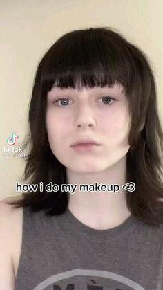 Edgy Makeup, Eye Makeup Art, Cute Makeup, Makeup Inspo, Makeup Looks, Hair Makeup, Hair Tips Video, Arte Punk, Alternative Makeup