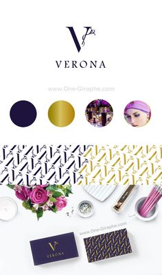 Verona - New Logo Package for sale! one-giraphe.com/... ‪#‎logo‬ ‪#‎logodesign‬…