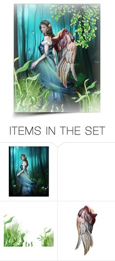 """""""Angel"""" by annsophie38 ❤ liked on Polyvore featuring art and angel"""
