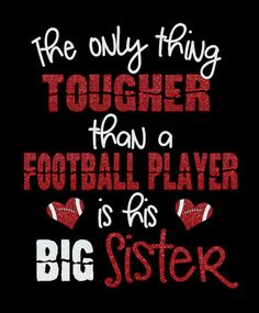 Football Big Sister Shirt customize for your team colors