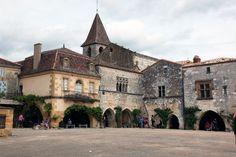 Monpazier, Périgord, France
