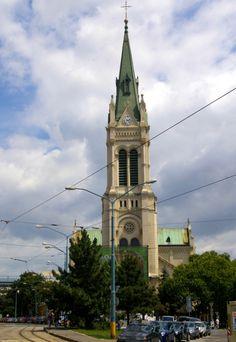 Slovakia, Bratislava - Blumentálsky church