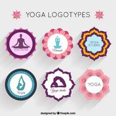 Colección de logo Yoga
