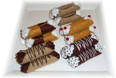 Pretend Play Kitchen - Cannoli, in Felt | by Hiromi Hughes