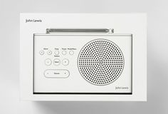 Packaging design by Pentagram for John Lewis' consumer electronics range…