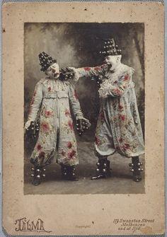 jandaschewsky clowns, 1900, australia