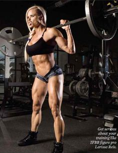 Pumpitup's Female Muscle: Larissa Reis