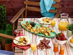 Get the Most Out of Your Grill : Why reserve the grill for dinner only, when there are so many great breakfast and lunch items that can be easily prepared in the backyard too? Grill all weekend long with flame-kissed versions of favorites like French toast, pizza and tacos.
