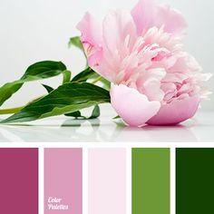 dark green pink palette - Google Search