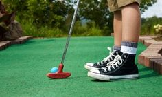Groupon - Mini-Golf Package for Two or Four with Arcade Tokens  at Putt-Putt Fun Center (Up to 54% Off) in High Point. Groupon deal price: $22