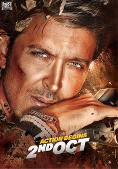 #Exclusive: Hrithik Roshan's awesome look from #BangBang.