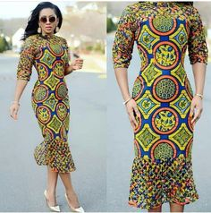 Fittest Ankara Long Gown Styles 2018 : Slim and Fittest for African Women .Fittest Ankara Long Gown Styles 2018 : Slim and Fittest for African Women African Print Dresses, African Print Fashion, Africa Fashion, African Fashion Dresses, Ethnic Fashion, African Dress, Ankara Fashion, African Attire, African Wear