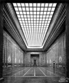 Albert Speer, Neue Reichskanzlei, Mosaic Room, 1939, Germany