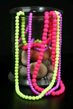Lumo Bead Necklaces Handcrafted by Shen Bettridge Email shenbettridge@gmail.com